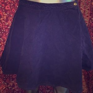 American Apparel *Royal Purple* Corduroy Skirt